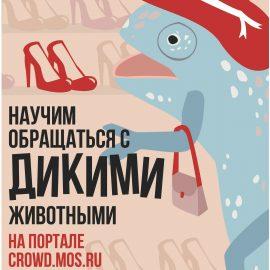 Москвичи примут участие в обсуждении закона «Об охране диких животных»